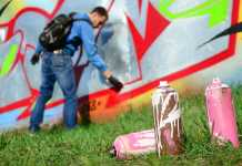 How to prevent graffiti vandalism
