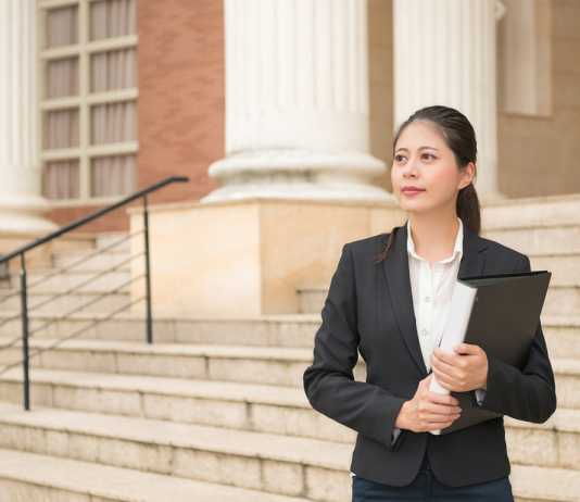 When can a lawyer represent you without you being physically in court