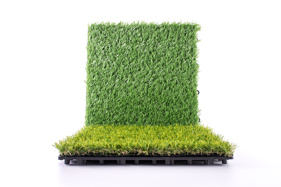 how to make fake grass look real