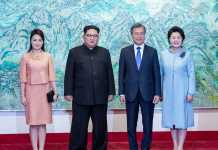 Kim Jong-un and Moon Jae-in meet for peace summit in Pyongyang
