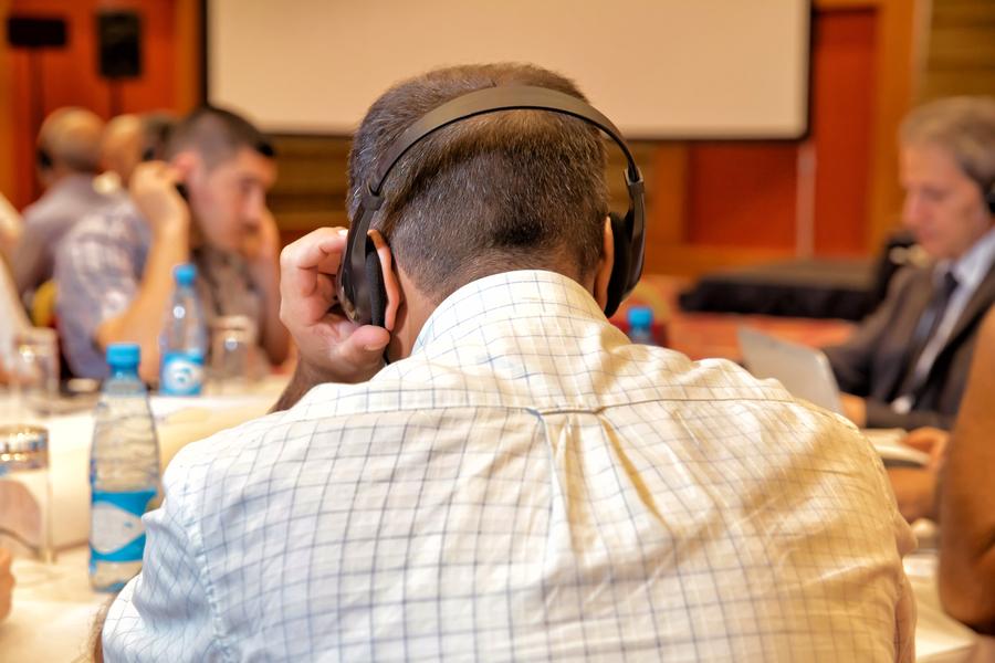 Telephone interpreting technology