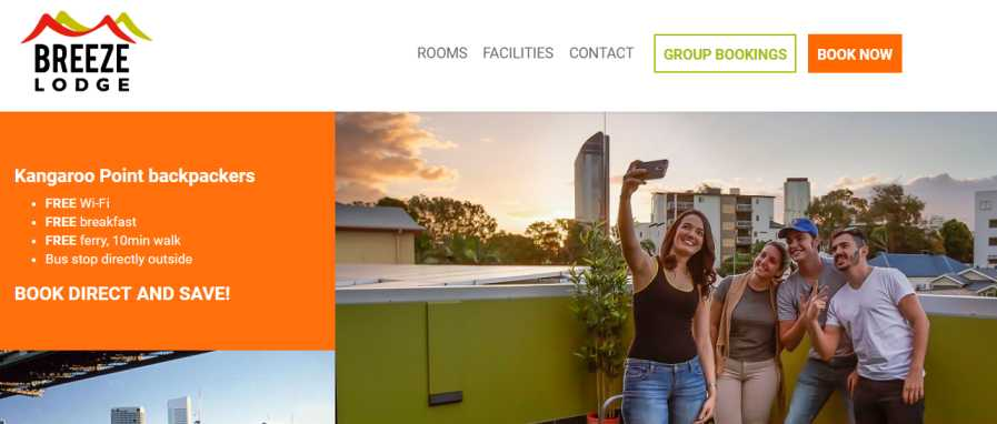 best hostel in Brisbane