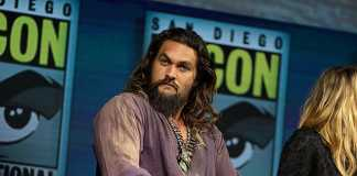 Aquaman topples Spider-Man Into the Spider-Verse