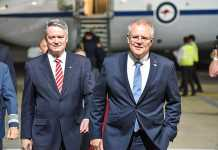 PM Scott Morrison meets with troops for pre-Christmas visit