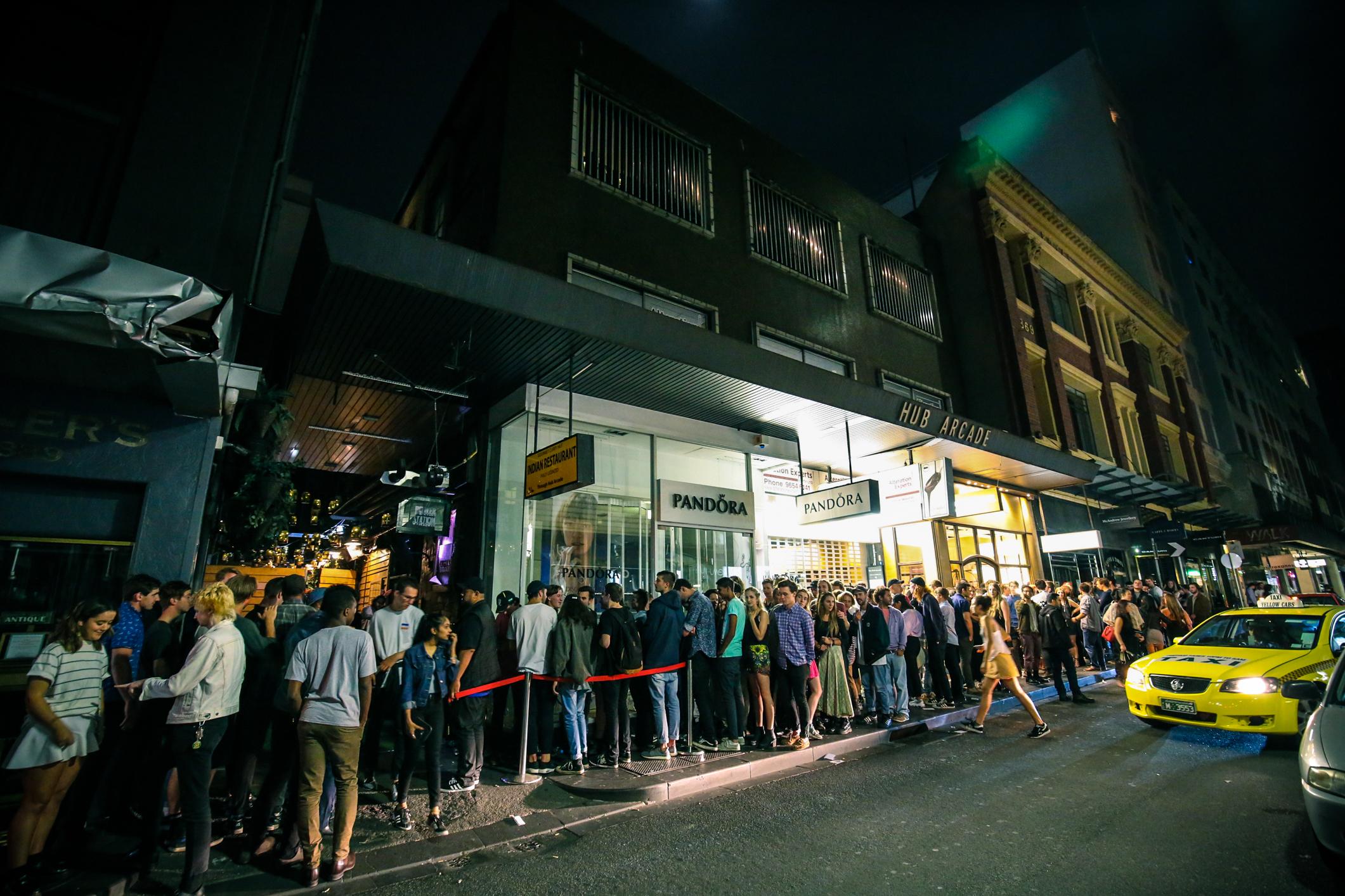 Melbourne night club