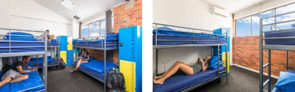 hostel for backpackers in Brisbane