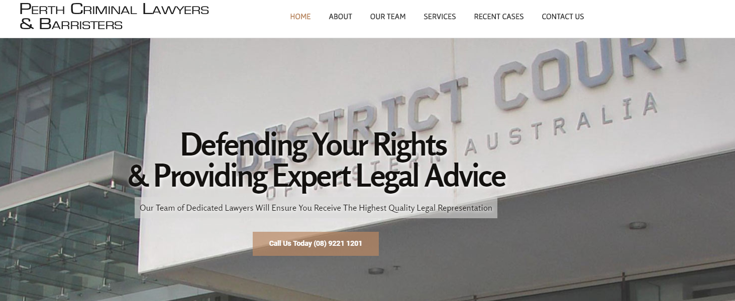 criminal lawyers Perth
