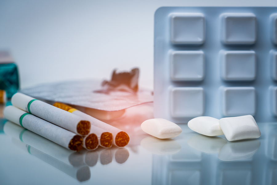Non-nicotine medications for giving up cigarettes