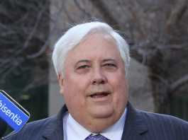 Clive Palmer facing potential legal action for use of Boy George song