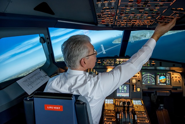 pilot has good salary without a degree