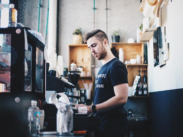 steeling cashier