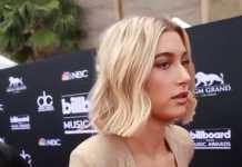 Hailey Baldwin at the 2018 Billboard Music Awards