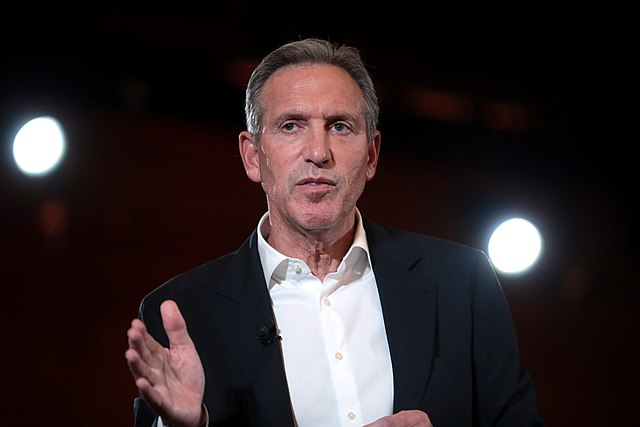 Howard Schultz moving towards US presidential run