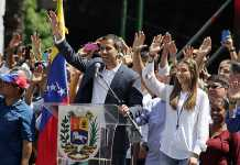Venezuelan Opposition Leader Juan Guaido returns to cheering crowds
