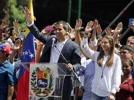 Venezuelan Opposition Leader Juan Guaido returns to cheering crowds