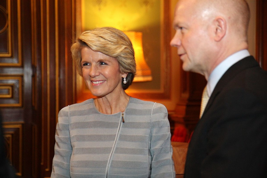 Julie Bishop admits politics can be lonely for female members of Parliament