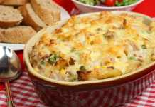 chicken and corn pasta bake recipe