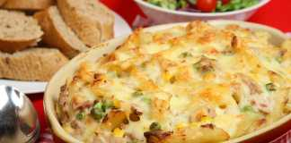 chicken and corn pasta bake recipe