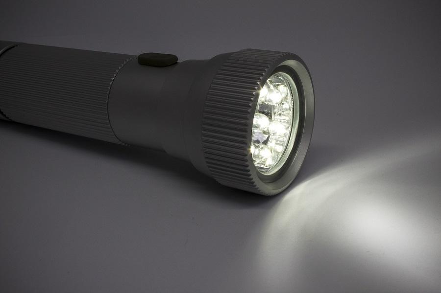 Flashlight camping list
