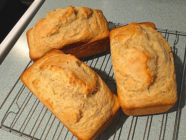 home made banana bread recipe
