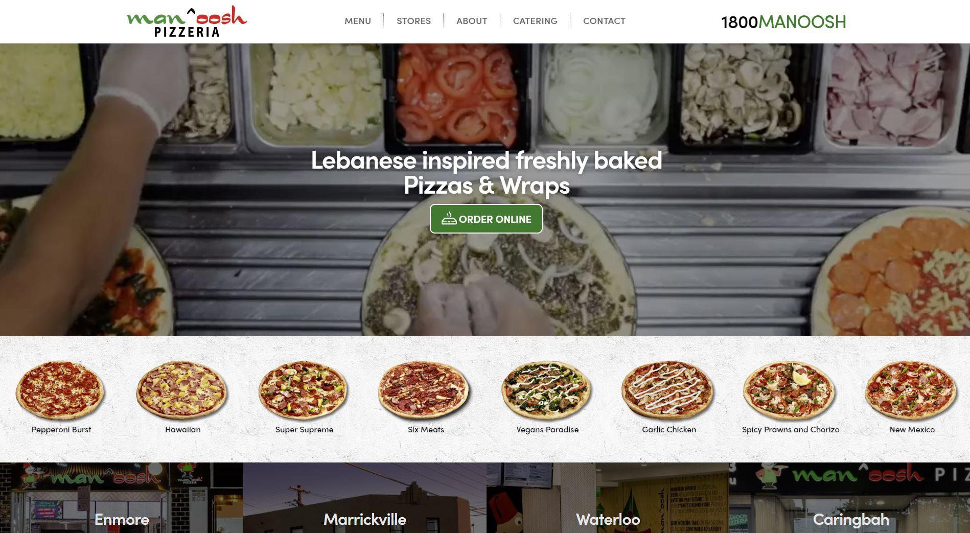 lebanese pizza Sydney