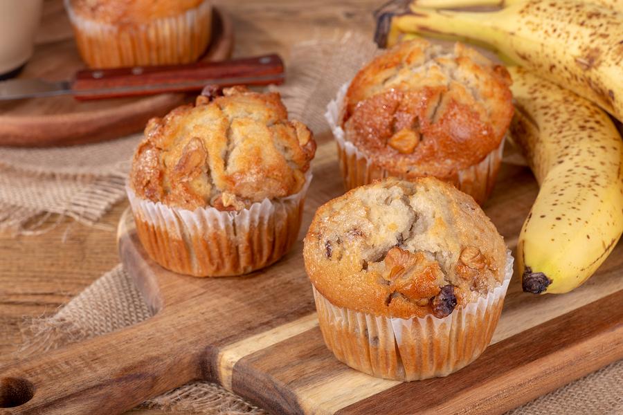 banana muffins easy to make recipe