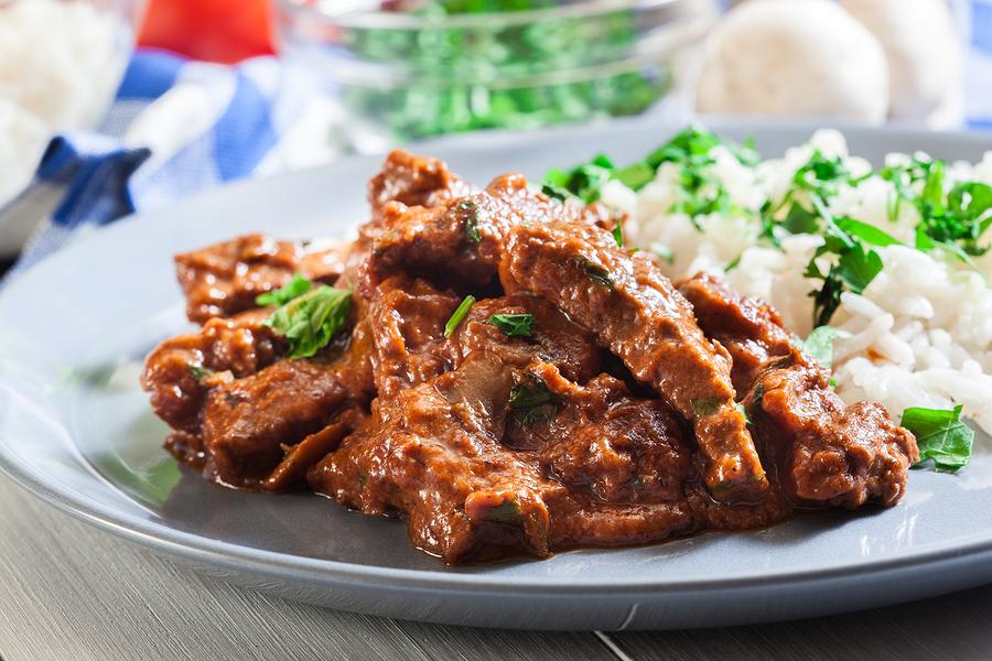 recipe Beef stroganoff