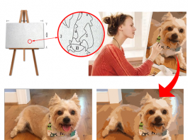Get started in painting from photos with a custom paint by numbers kit