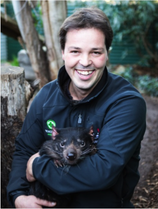 Greg Irons - Owner of Bonorong Wildlife Sanctuary