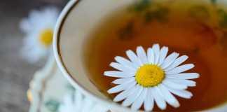 Chamomile tea as a herbal medicine. Source: Pixabay