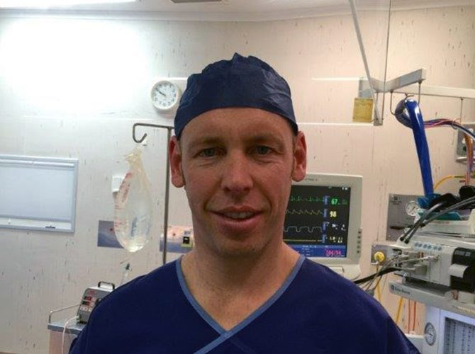 Dr Peter Unwin - Anaesthetist - TASAN