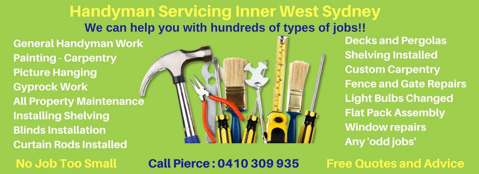 Handyman Inner West Sydney