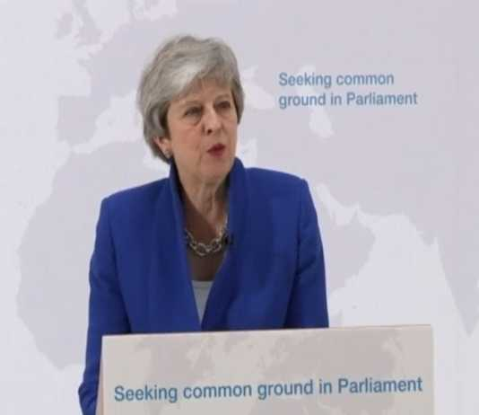 Theresa May offers a sweeter 'new deal' to end Brexit stalemate