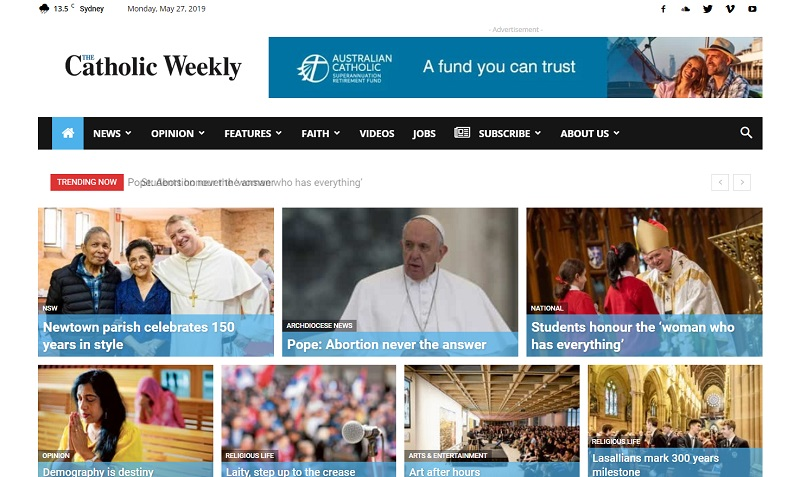 The Catholic Weekly