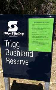 Trigg Bushland Reserve
