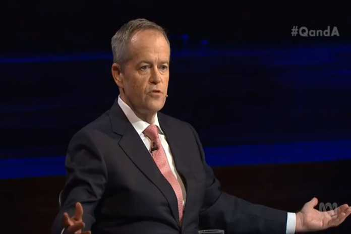 Bill Shorten defends targeting franking credits and negative gearing
