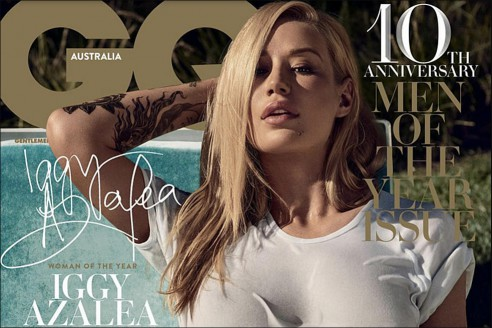 Gq Australia Disappointed About Iggy Azalea S Leaked