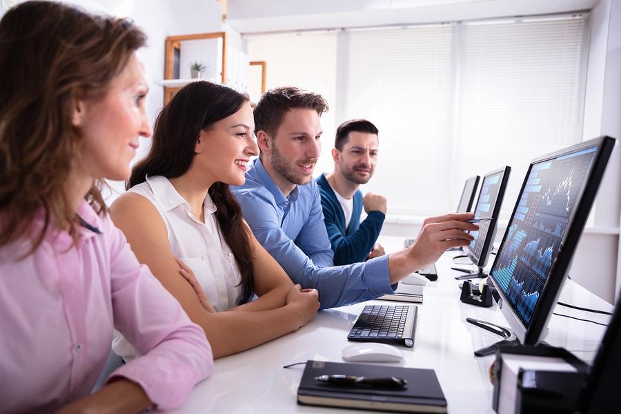 stock broker office training