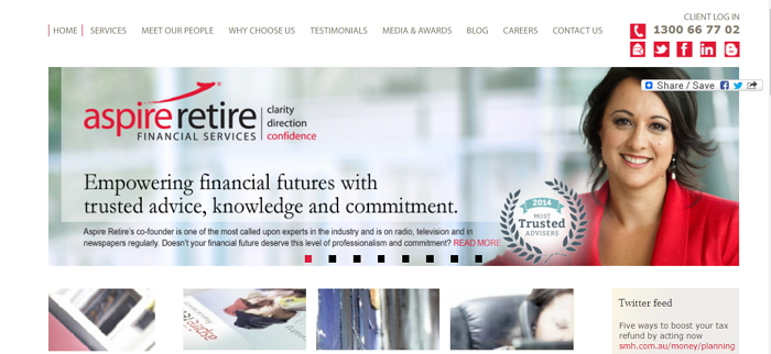 Aspire Retire Financial Services