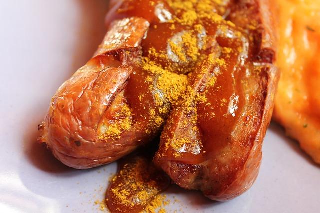 Curried sausage recipe