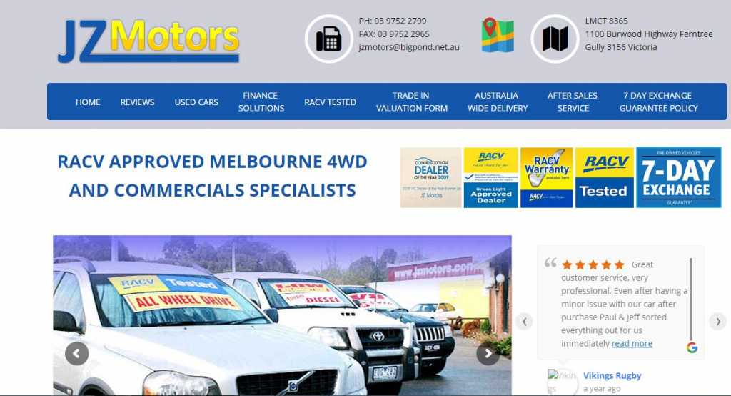 Best Used Car Dealers in Melbourne