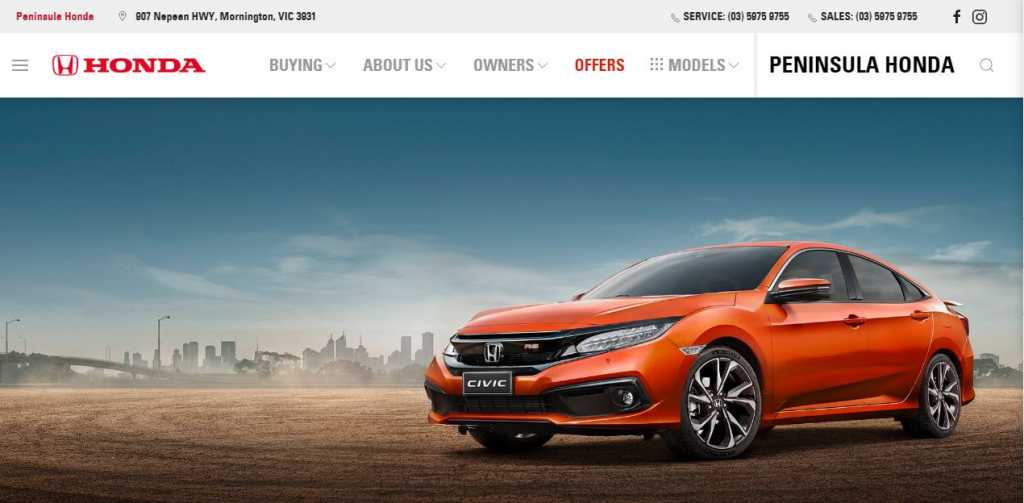Best Honda Dealers in Melbourne