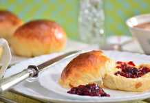 Scrumptious lemonade scones