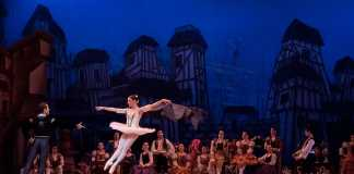 Ballet production at a theatre