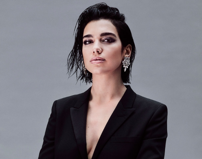 Dua Lipa serves looks as the new face of a luxury fragrance brand