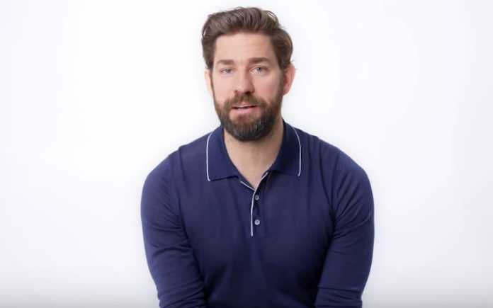John Krasinski teases Jenna Fischer in a video with her on-screen ex Roy