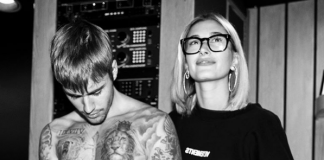 Justin and Hailey Bieber flaunt their wedding rings