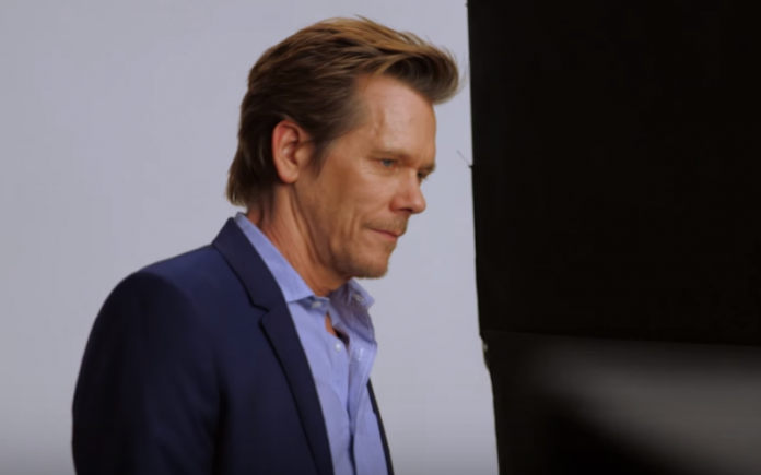 Kevin Bacon is not happy about Trump's
