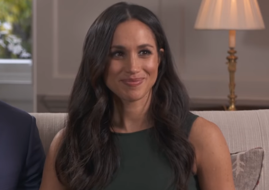 Meghan Markle in an interview with BBC.