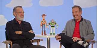 Tom Hanks and Tim Allen brings Toy Story 4 magic to a children's hospital